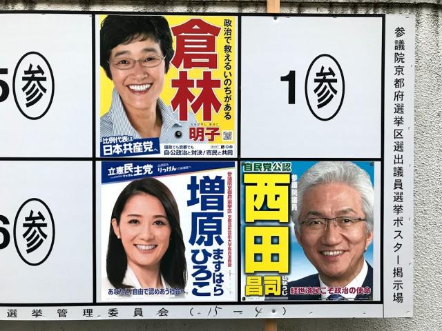 参議院京都府選挙区